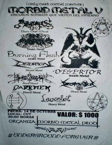 Morbid Metal V, año 2000